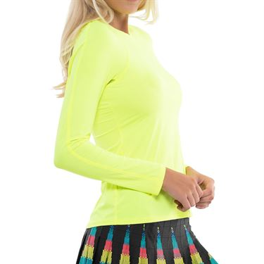 Lucky in Love L UV Protection Breeze Long Sleeve Crew Top