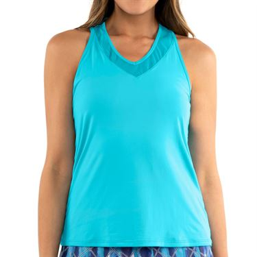 Lucky in Love L UV Protection V Neck Breeze Tank Womens Breeze CT643 422