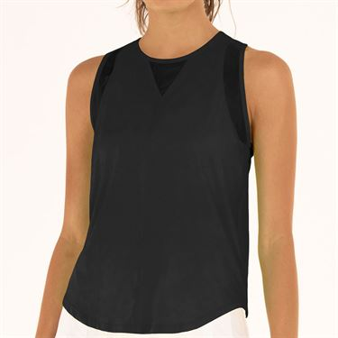 Lucky in Love L UV Protection Chill Out Tank Womens Black CT661 001