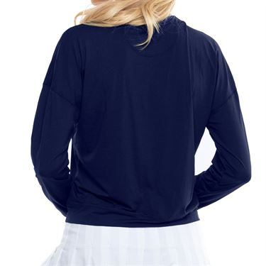 Lucky In Love LUV Hype Long Sleeve Top Womens Midnight CT668 401
