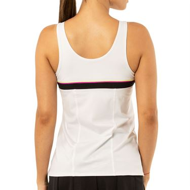 Lucky in Love Rockin Rococo Uprise Bungee Tank Womens White CT684 120