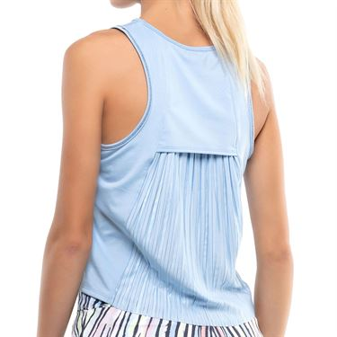 Lucky in Love Going Wild Pleats Please Tank Womens Cloud CT768 418