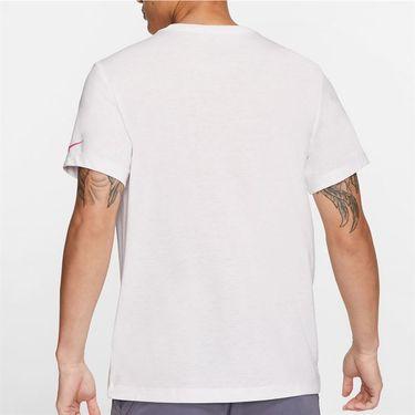 Nike Court Dri Fit Rafa Tee Shirt Mens White CU0324 100