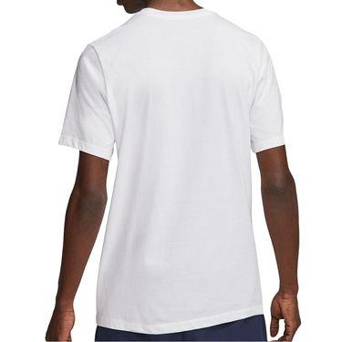 Nike Court Tee Shirt Mens White CU0329 100