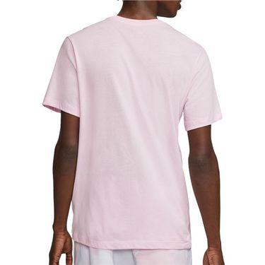 Nike Court Tee Shirt Mens Pink Foam CU0329 663