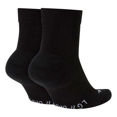 Nike Court Multiplier Max Quarter Crew Sock (2 pairs)