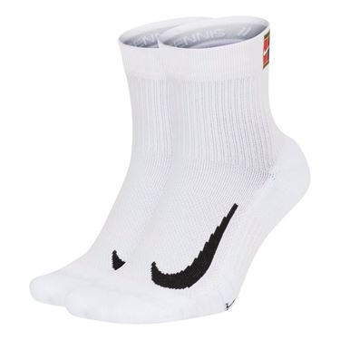 Nike Court Multiplier Max Quarter White Crew Sock