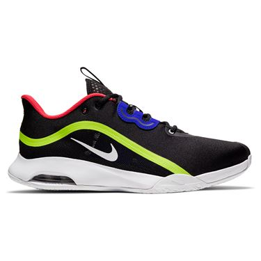 Nike Air Max Volley Mens Tennis Shoe Black/White/Volt/Laser Crimson CU4274 001