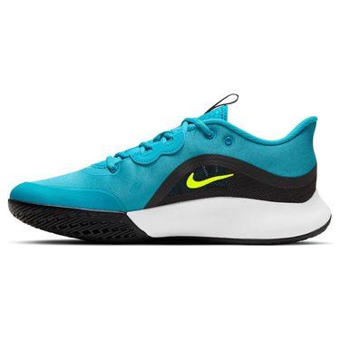 Nike Court Air Max Volley Mens Tennis Shoe Chlorine Blue/Cyber Black/White CU4274 400
