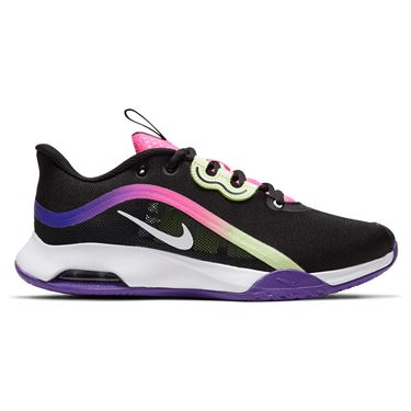 Nike Air Max Volley Womens Tennis Shoe Black/White/Liquid Lime/Pink Blast CU4275 001