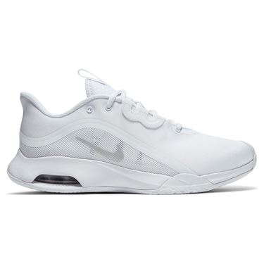 Nike Air Max Volley Womens Tennis Shoe White/Metallic Silver CU4275 100