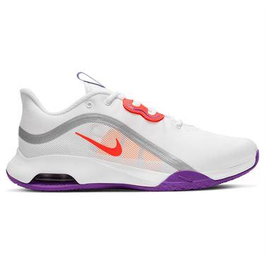 Nike Court Air Max Volley Womens Tennis Shoe White/Bright Mango/Purple Pulse CU4275 101