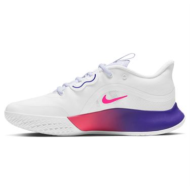 Nike Court Air Max Volley Womens Tennis Shoe White/Hyper Pink/Fierce Purple CU4275 102