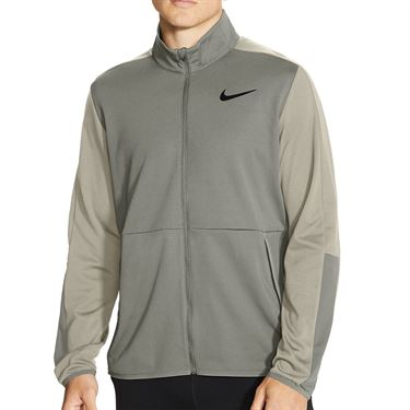 Nike Dri FIT Full Zip Jacket Mens Lt Army/Stone/Black CU4947 320