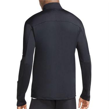 Nike Dri FIT 1/2 Zip Jacket Mens Black/Reflective Silver CU6073 010