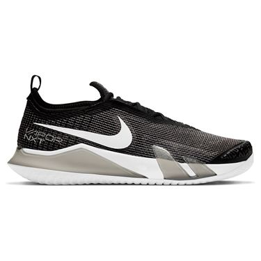 Nike Court React Vapor NXT Mens Tennis Shoe Black/White CV0724 002