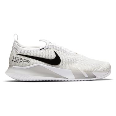 Nike Court React Vapor NXT Mens Tennis Shoe White/Black/Grey Fog CV0724 101