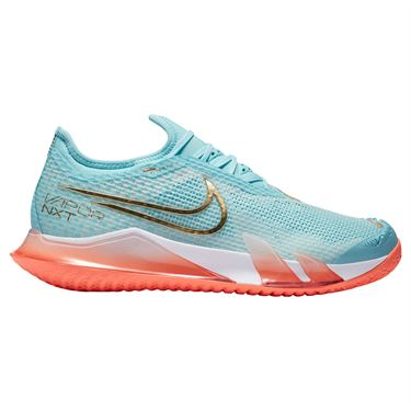 Nike Court React Vapor NXT Womens Tennis Shoe COPA/Metallic Gold/Bright Mango/White CV0742 400