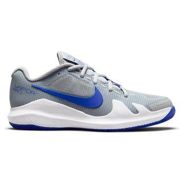 Nike Court Junior Vapor Pro Tennis Shoe Light Smoke Grey/Hyper Royal/White CV0863 033