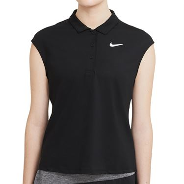 Nike Court Victory Polo - Black/White