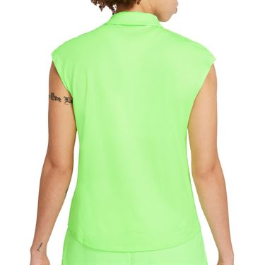 Nike Court Victory Top Womens Lime Glow/Black CV2473 345