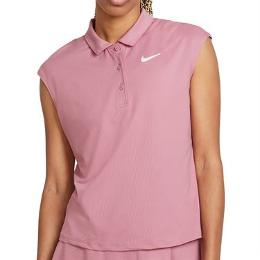 Nike Court Victory Top Womens Elemental Pink/White CV2473 698