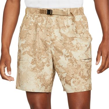 Nike Court Flex Slam Short Mens Parachute Beige/White CV2519 297