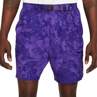 Nike Court Flex Slam Short Mens Court Purple/Black/White CV2519 547