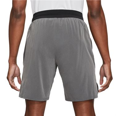 Nike Court Dri FIT Slam Short Mens Black/Dark Smoke Grey/White CV2709 010