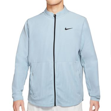 Nike Court Hyper Adapt Advantage Full Zip Jacket Mens Lt Armory Blue/Black CV2798 440