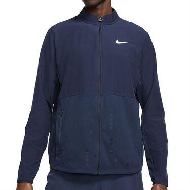 Nike Court Hyperadapt Advantage Tennis Jacket - Obsidian/White
