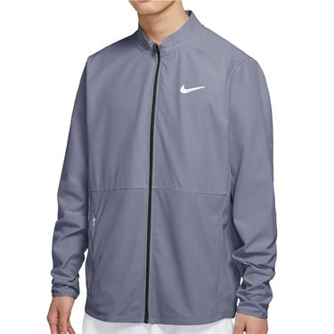Nike Court Hyper Adapt Advantage Full Zip Jacket Mens Indigo Haze/White CV2798 519