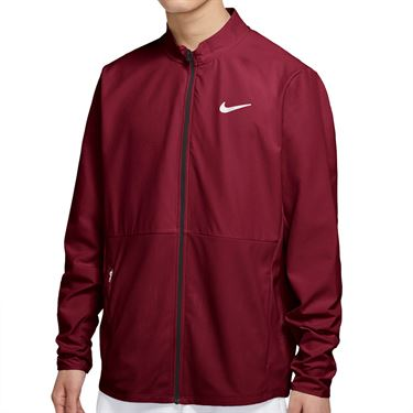 Nike Court Hyper Adapt Advantage Full Zip Jacket Mens Dark Beetroot/White CV2798 638