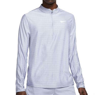 Nike Court Breathe Advantage 1/2 Zip Jacket Mens Indigo Haze/White CV2866 519
