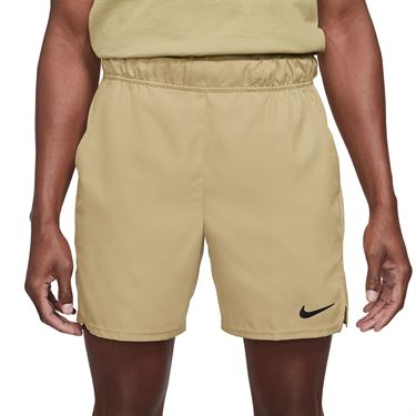 Nike Court Dri FIT Victory Short Mens Parachute Beige/Black CV3048 297