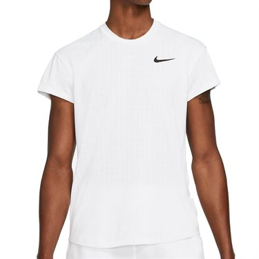 Nike Court Breathe Slam Shirt Mens White/Black CV3840 100