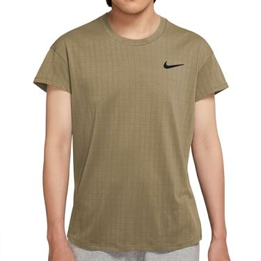 Nike Court Breathe Slam Shirt Mens Parachute Beige/Black CV3840 297