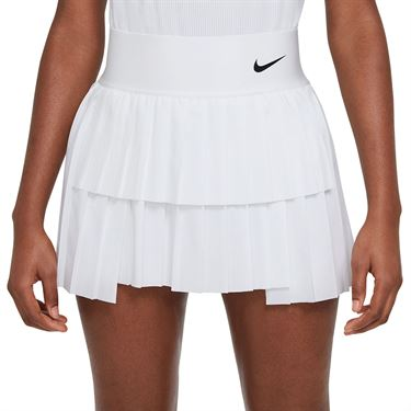 Nike Court Advantage Tall Skirt Womens White/Black CV4678 100T