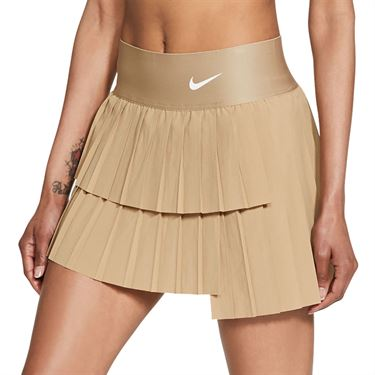 Nike Court Advantage Skirt Womens Parachute Beige/White CV4678 297