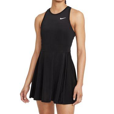 Nike Court Dri Fit Advantage Dress Womens Black/White CV4692 011
