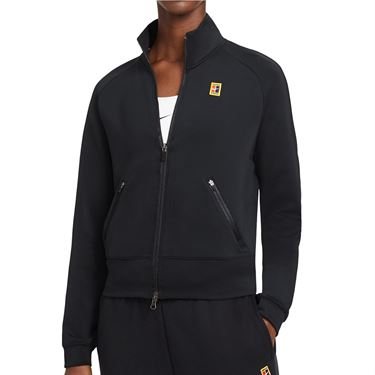 Nike Court Full Zip Jacket Womens Black CV4701 010