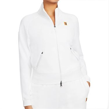 Nike Court Full Zip Jacket Womens White CV4701 100