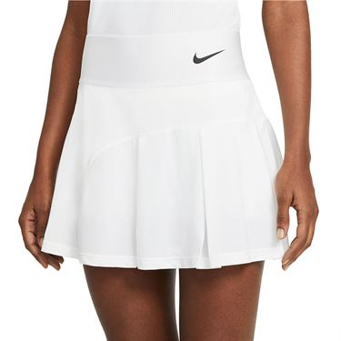 Nike Court Advantage Tall Skirt Womens White/Black CV4707 101T