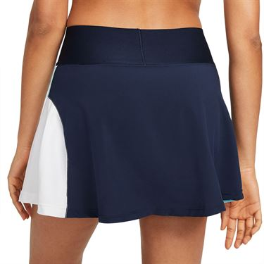 Nike Court Advantage Skirt Womems Obsidian/COPA/White CV4707 451