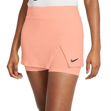 Nike Court Victory Tall Skirt Womens Crimson Bliss/Black CV4729 693T