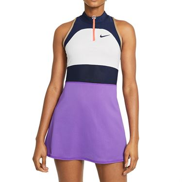 Nike Court Slam Dress Womens White/Wild Berry/Obsidian CV4824 100