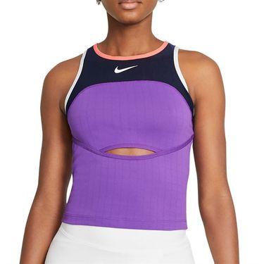 Nike Court Slam Tank Womens Wild Berry/Obsidian/Bright Mango/White CV4832 528