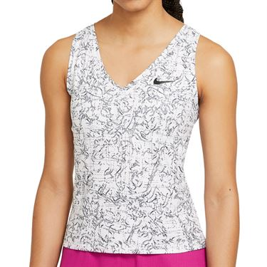Nike Court Victory Tank Womens White/Black CV4851 100