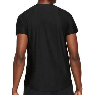 Nike Court Breathe Advantage Shirt Mens Black/White CV5032 010