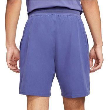 Nike Court Dri FIT Advantage Short Mens Dark Purple Dust/White CV5046 510